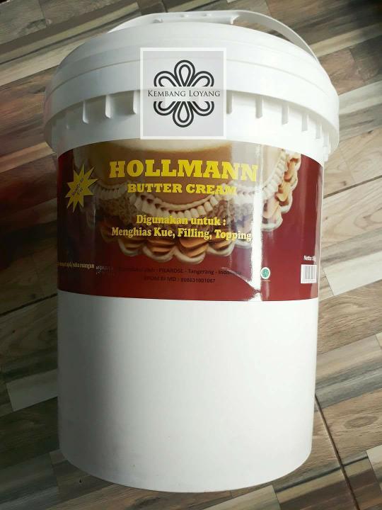 Hollman Buttercream repack 250gr