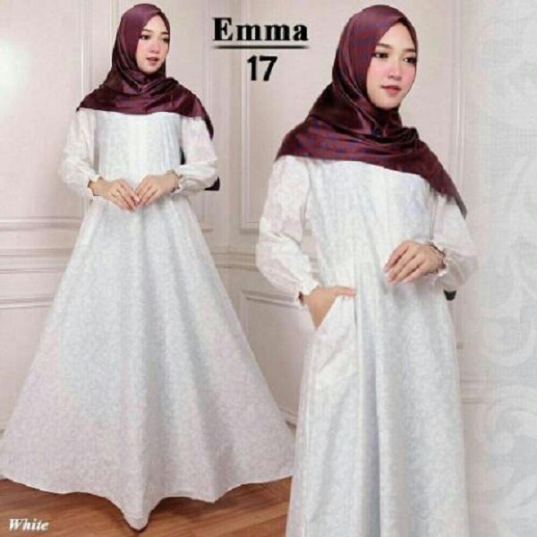 Maxi Emma 17 - Baju Muslim - Gamis Syari - Busana Muslimah