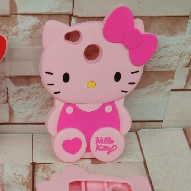 Case 3D Kartun Hello Kitty For Xiaomi Redmi 4x / 4A