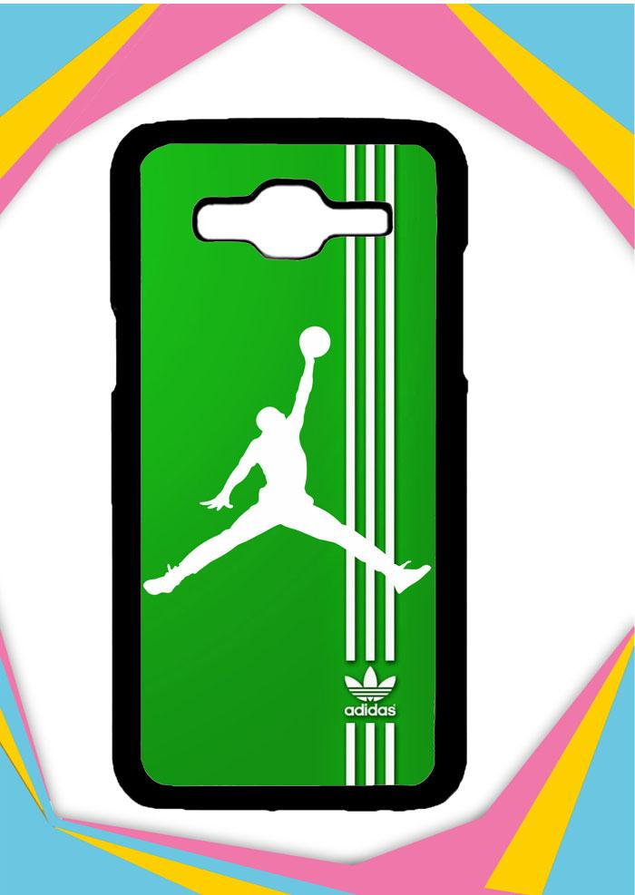 Casing Samsung Galaxy J2 2016 Custom Hardcase Adidas Logo Air Jordan X3125 Case Cover