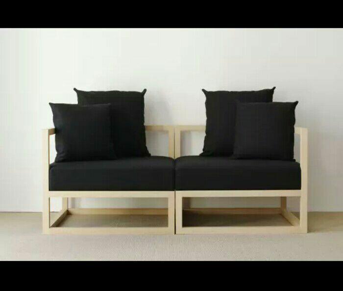 Original - Cubix Series - Kursi Tamu - Sofa Modern Minimalis - ( AC, AC ) - Xionco