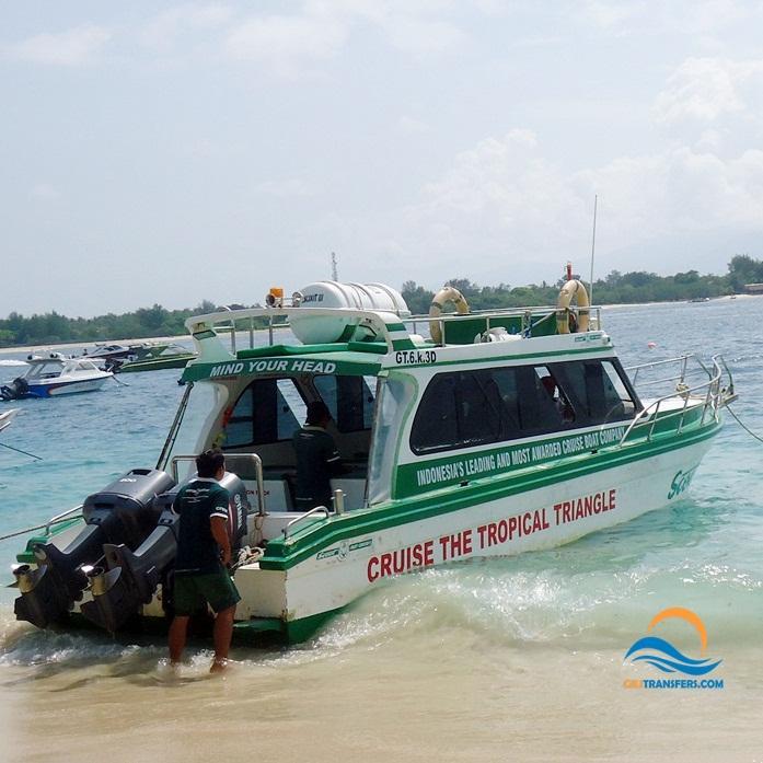 Fast Boat Ticket From Sanur Bali to Gili Trawangan