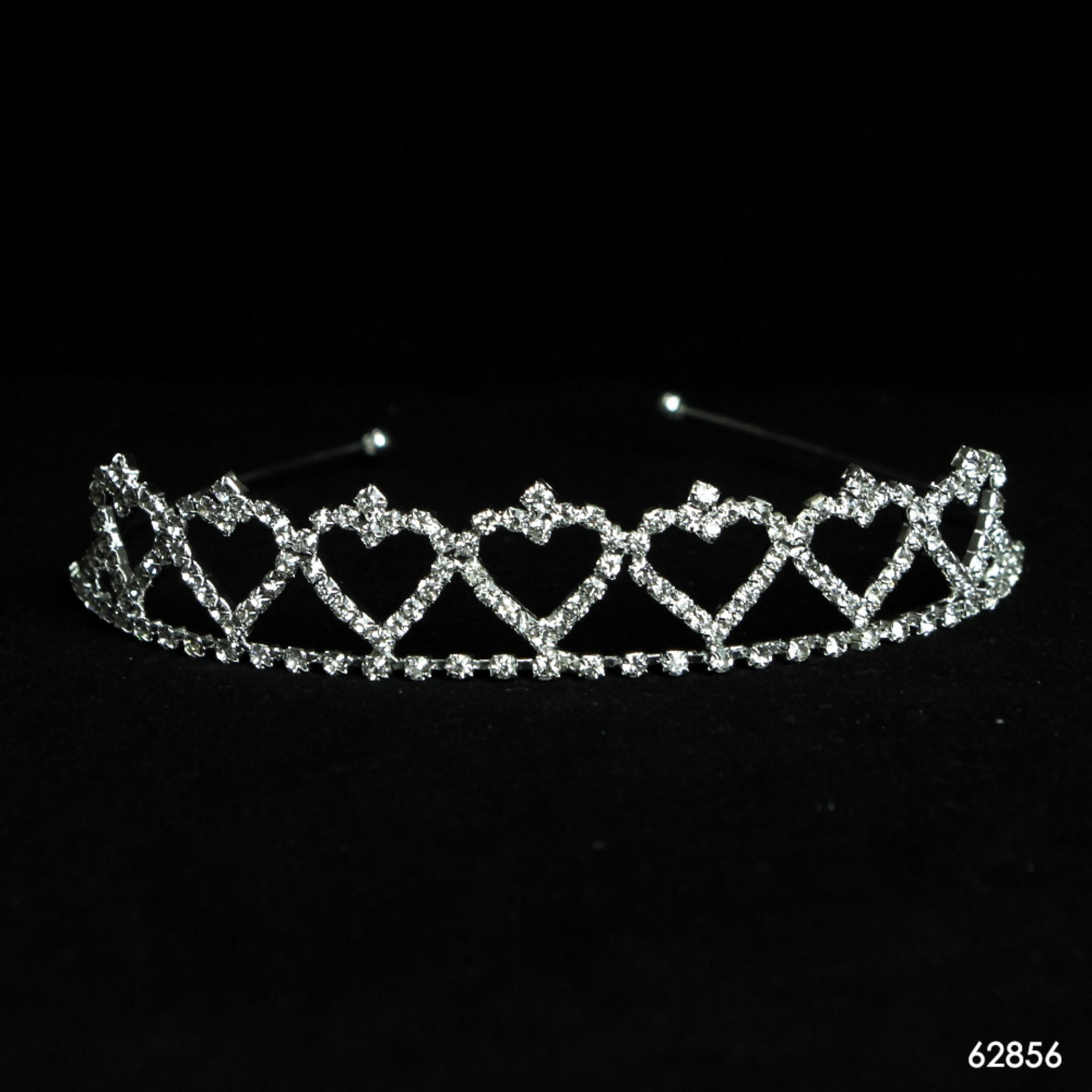 Rambut Pengantin Pernikahan Putri Tiara Jilbab Bando Kristal Mahkota ... - image. Source