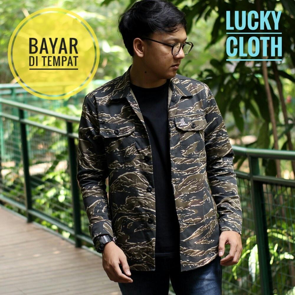 Kelebihan Jaket Casual Cagoule Navy List Army 003 Best Seller Lucky Jeans Hijau Levis Unisex Semi Parka Camo Cloth