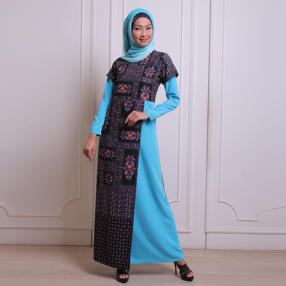 Zoya Dress Muslimah - Lowy Dress / Gamis Zoya