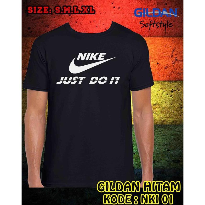 Baju Kaos Pakaian Desain Nike Gildan Softstyle - Logo Nike - Sale Promo!!
