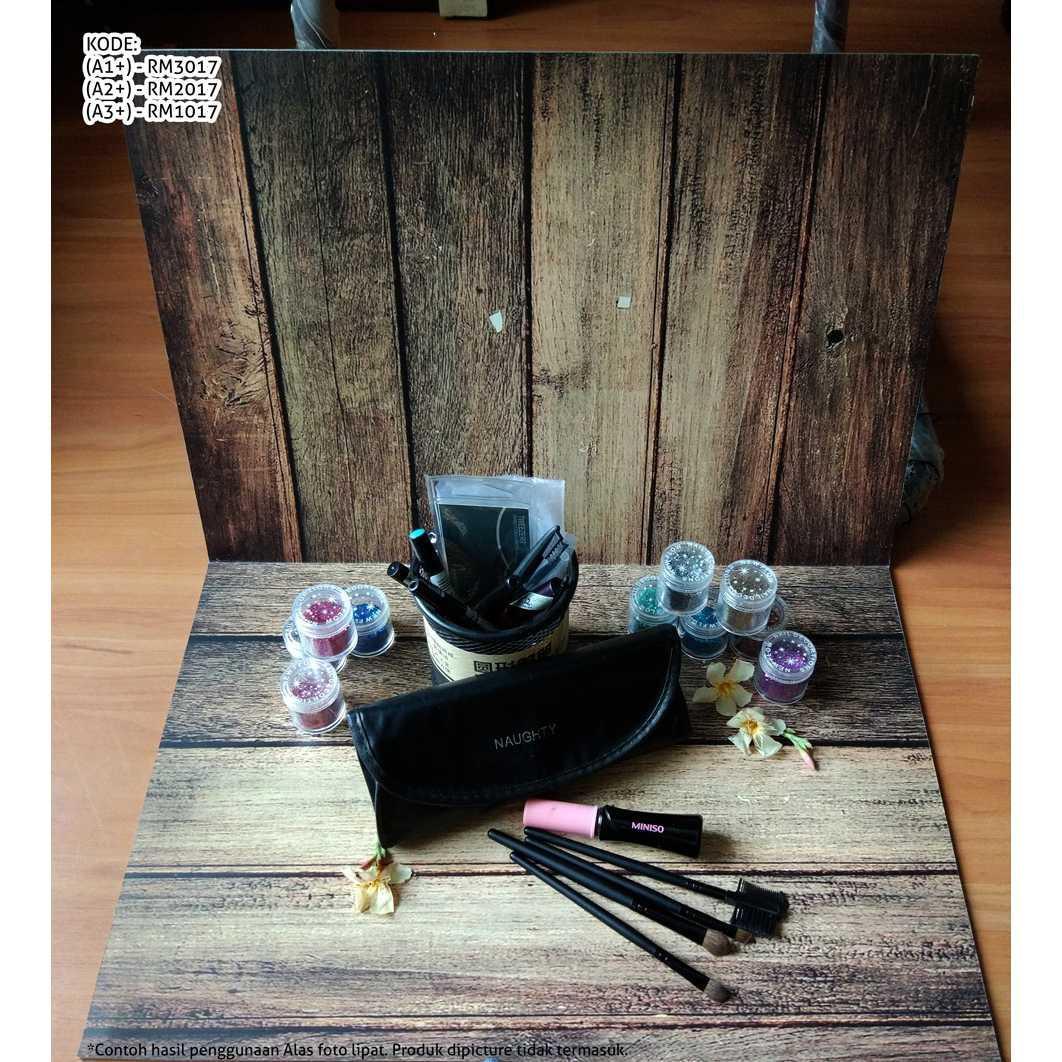 Alas Poto Lipat motif 2 kayu wood MEDIUM size/A2+/Sedang kode RM2017