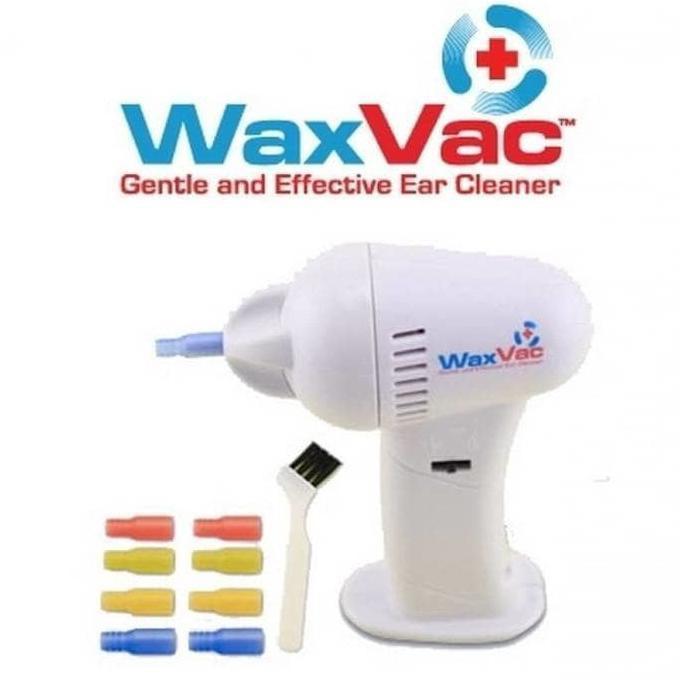 Waxvac Vacuum Ear Cleaner Alat Pembersih Telinga Murah