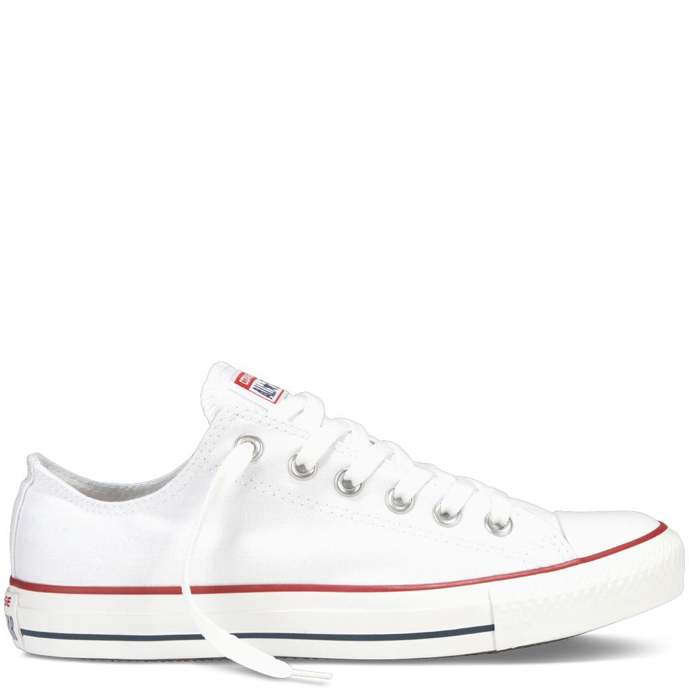 Converse Chuck Taylor All Star Classic Colour Low Top Sepatu Sneakers - Black/White