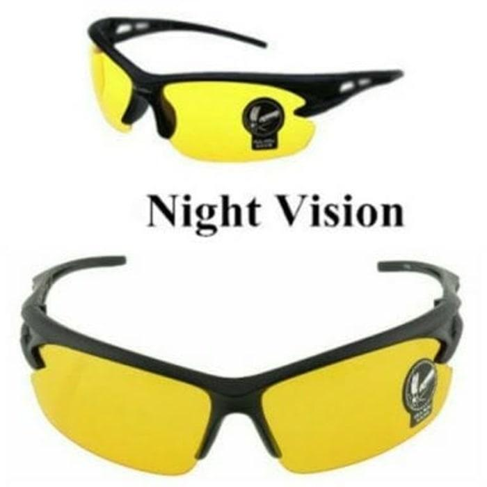 Anabelle Kacamata Night View HD Vision NV Model Sporty Terbaru tanpa dus