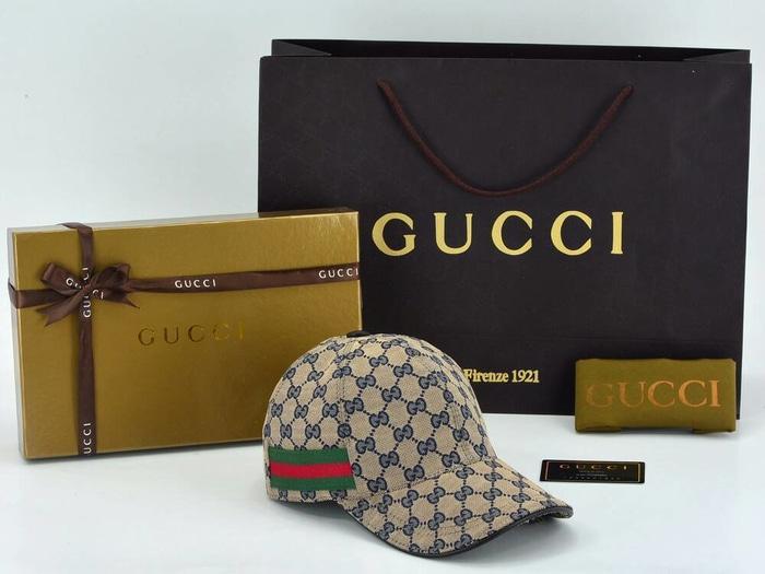 Topi Gucci Denim GG-Original Web PHD002