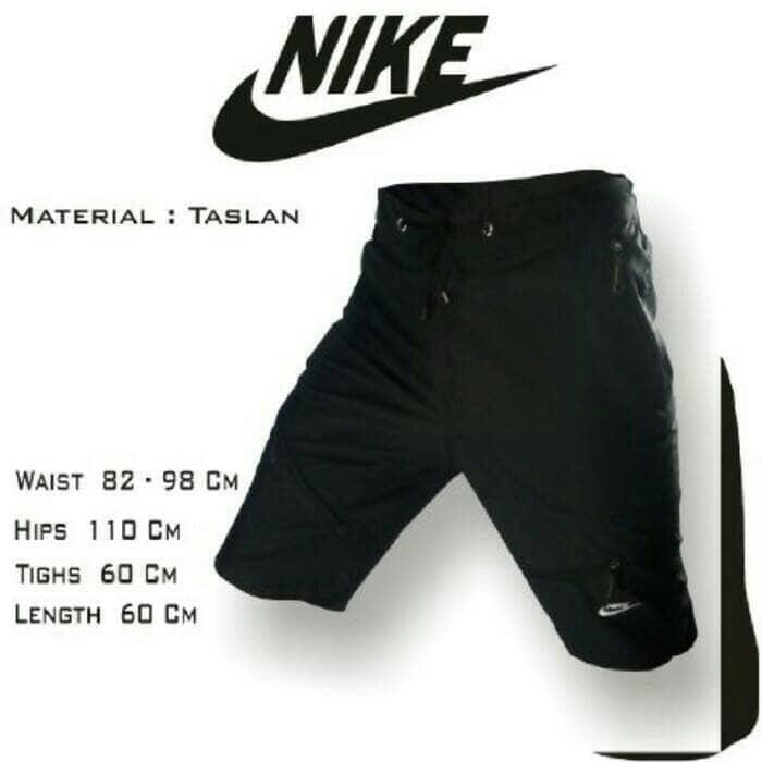 Celana Training / Running / Lari / Fitnes / Pants Taslan Nike Hitam - dD6GDp
