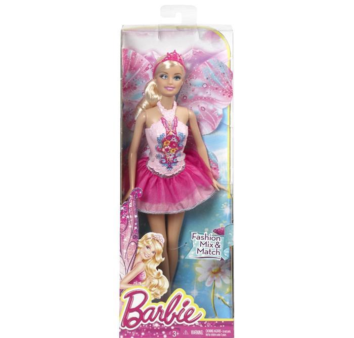 Barbie Fairy Blonde Mix & Match Fashion Doll - Original Boneka Mattel (Ready)