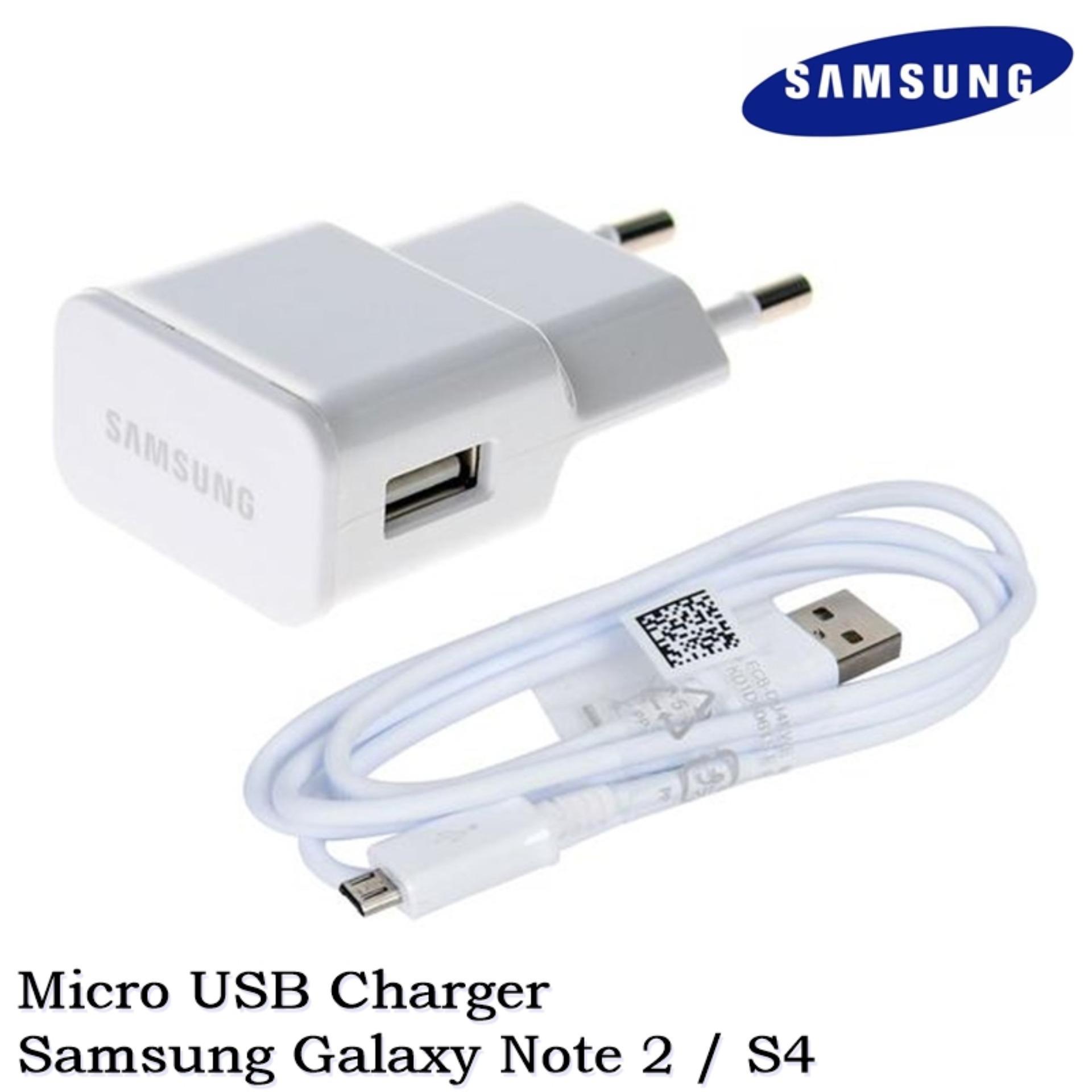 Samsung Charger Galaxy S3/4/5/Note 2/Grand/A3/5/E5/7 - Original