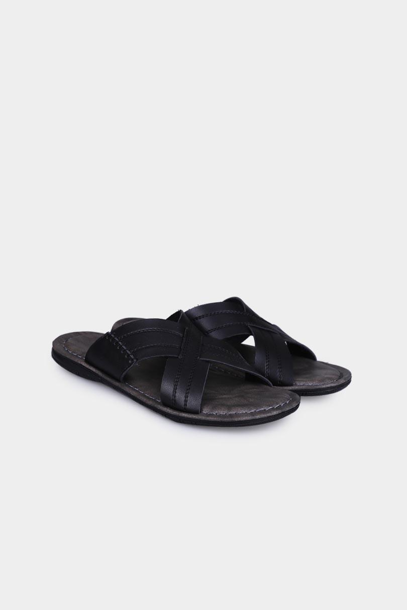 Yongki Komaladi Flip Flop & Sandal Fashion Pria 42100082 Hitam