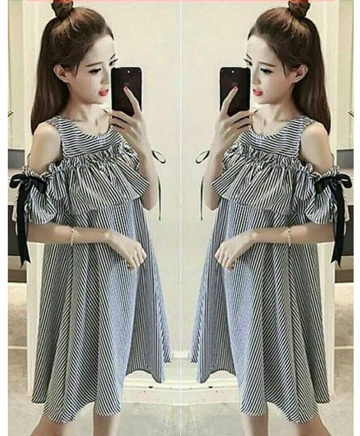 J&C Dress Sabrina Riyuki / Mini Dress Katun / Midi Dress Katun / Dress Wanita / Dress Korea / Blouse Wanita / Dress Model Tank Top / Blouse Korea