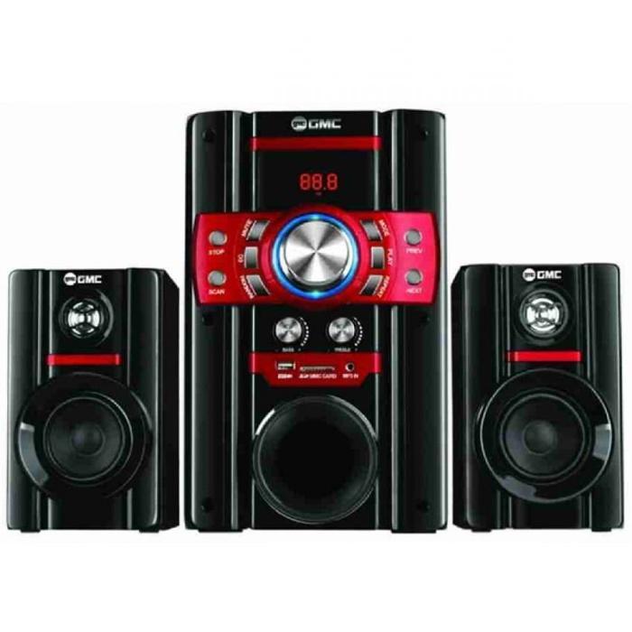 GMC 888S Multimedia Speaker Aktif 105WRMS Active Subwoofer System 2.1