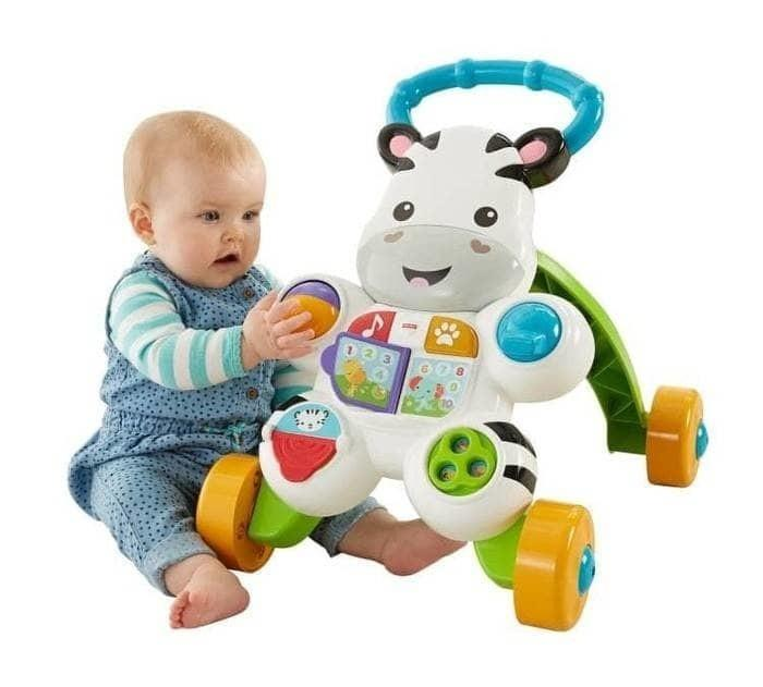 Fisher Price Toys Baby Walker Musical Zebra Musical Lion