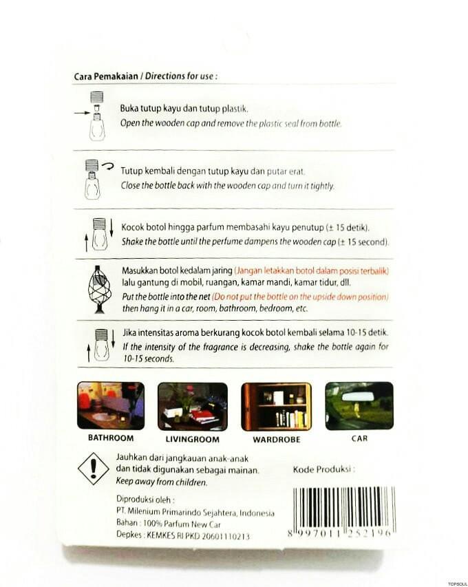 Gambar Produk Rinci Parfum mobil / Pengharum Ruangan Dorfree - Java Coffee Terkini
