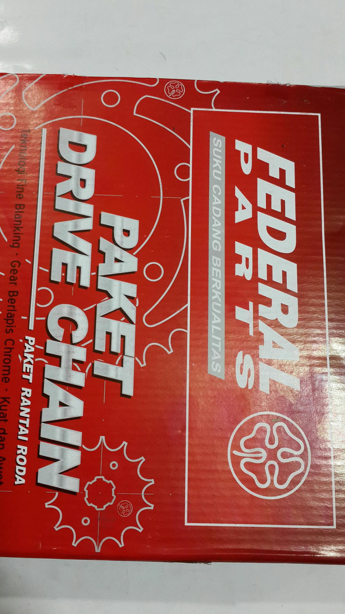 Gear set supra fit new revo paket drive chain motor