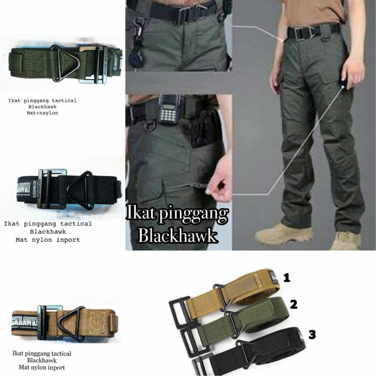 Blackhawk tactical kopel ikat pinggang gesper sabuk belt tactical series army outdoor adventure