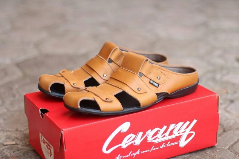 Sandal Pria Kulit Asli Awet Limited Edition - Pria Tangguh - Sandal Tali - Sandal Rumahan Elegan