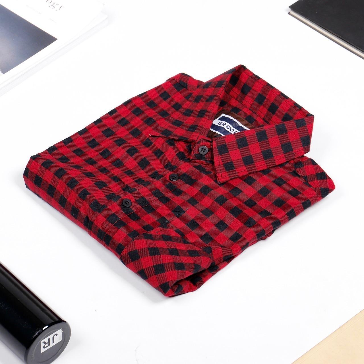 Kemeja Flanel Flannel Kotak Hijau Cowok Pria4 Daftar Harga Pria Model Slimfit Modern Motif Monte Putih L Source Lengan Panjang Terbaru Red Sierra Broodis