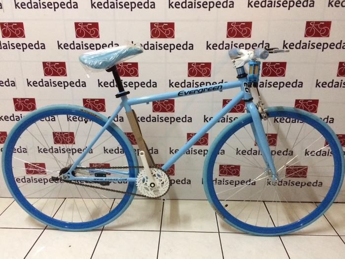Sepeda Fixie evergreen 700c - LMFvpP