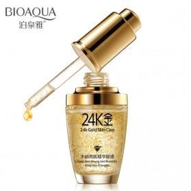 Bioaqua Serum Wajah 24K Gold Essence 30ml - Golden - 1