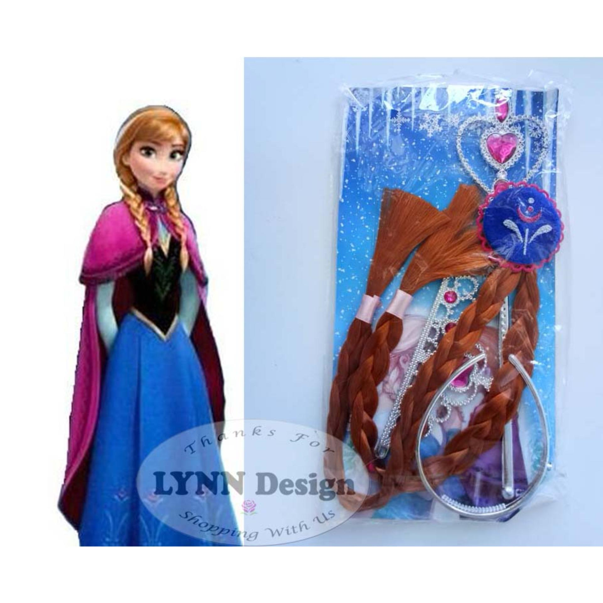 Lynn Design - Frozen Elsa aksesoris Anna aksesoris 3 in 1 a97b737ddb