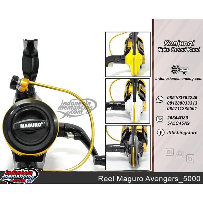 Reel Pancing Maguro Avengers_5000 - Kjsfhia