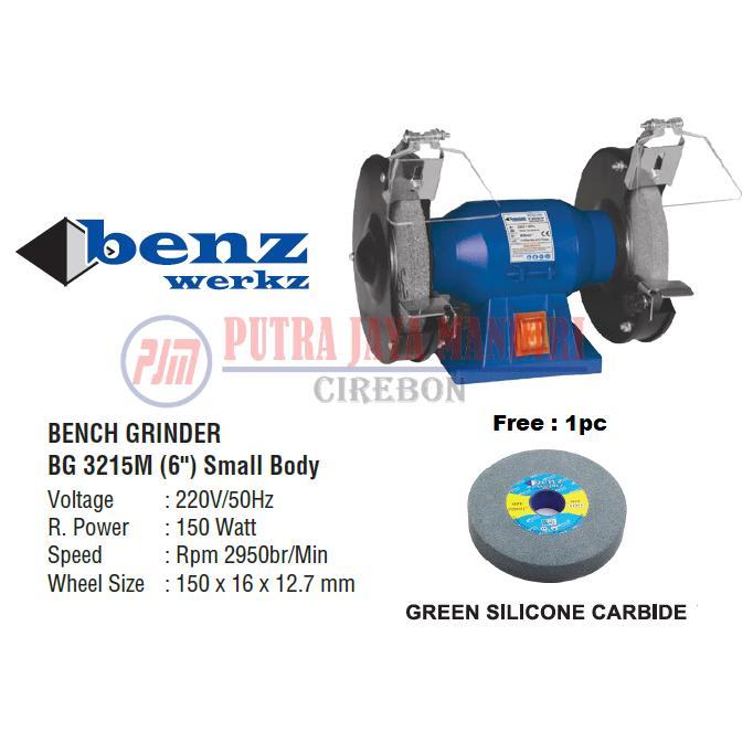 Benz Bench Grinder / Mesin Poles Batu Asah Gerinda Duduk 6