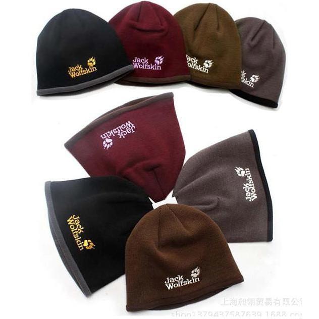 Jackwolfskin Beanie Knit Hat - Topi Kupluk Rajut Jack Wolf Skin Cap - Djfpwjg