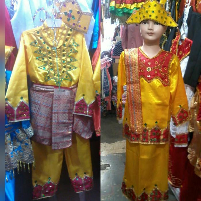 Pakaian baju adat anak gorontalo size S  M LkPr