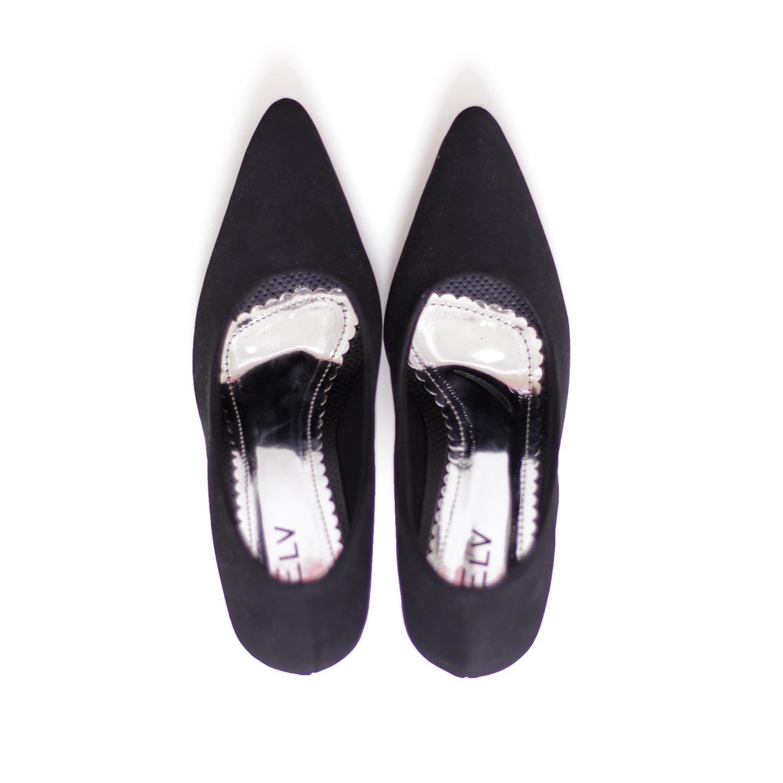 ... Sepatu High Heels / Sepatu kantor wanita / sepatu pantofel wanita ELV EL 030 Hitam -