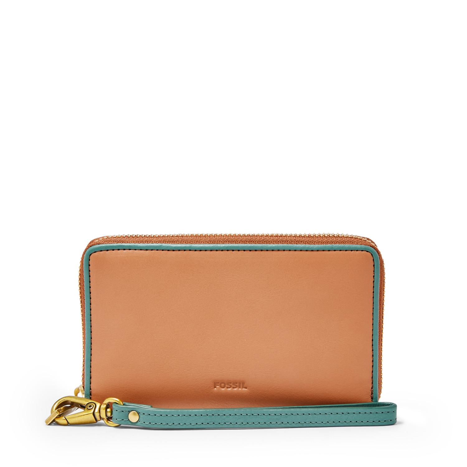 Fossil - Emma Leather Smarthpone - Brown - Dompet HP Wanita - SL7472-231 - SL