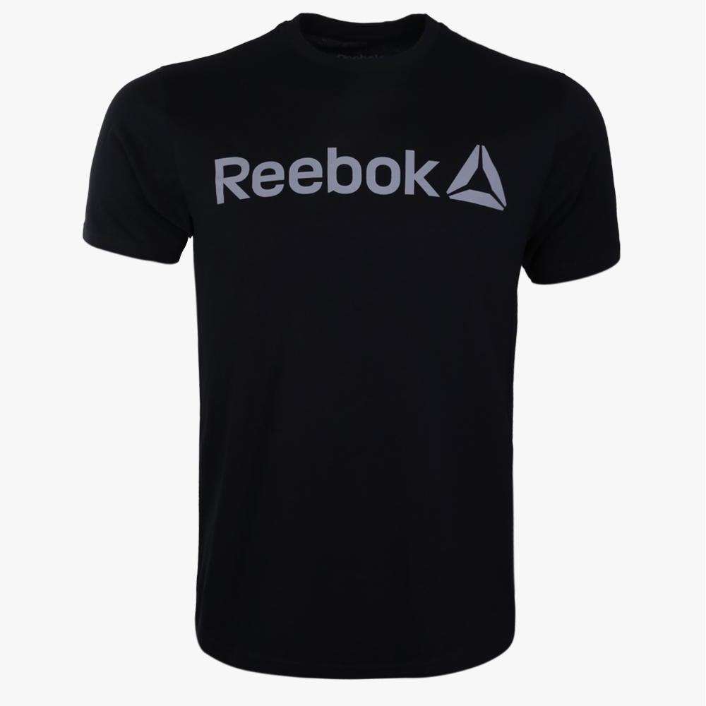 Reebok RM Basic Men Graphic Tee - Black - Ramadhan