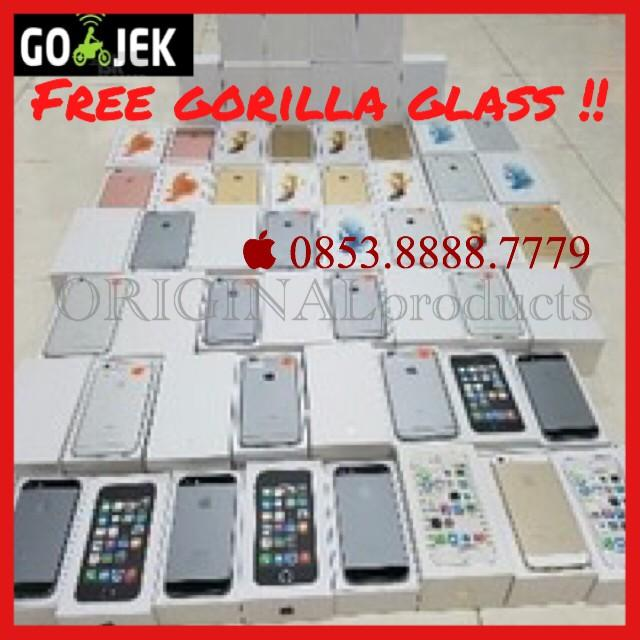 [NEW] Iphone 6 Iphone6 128Gb Gold Silver Grey Putih Garansi 1 Tahun