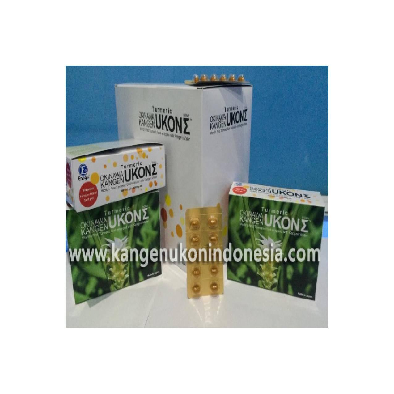 Kangen UKON Sigma - Turmeric Okinawa - Kunyit Jepang - 3 Box