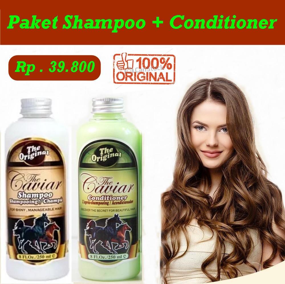 Buy Sell Cheapest Caviar Paket Shampo Best Quality Product Deals Shampoo Bpom Jbs Hemat Dan Conditioner 1