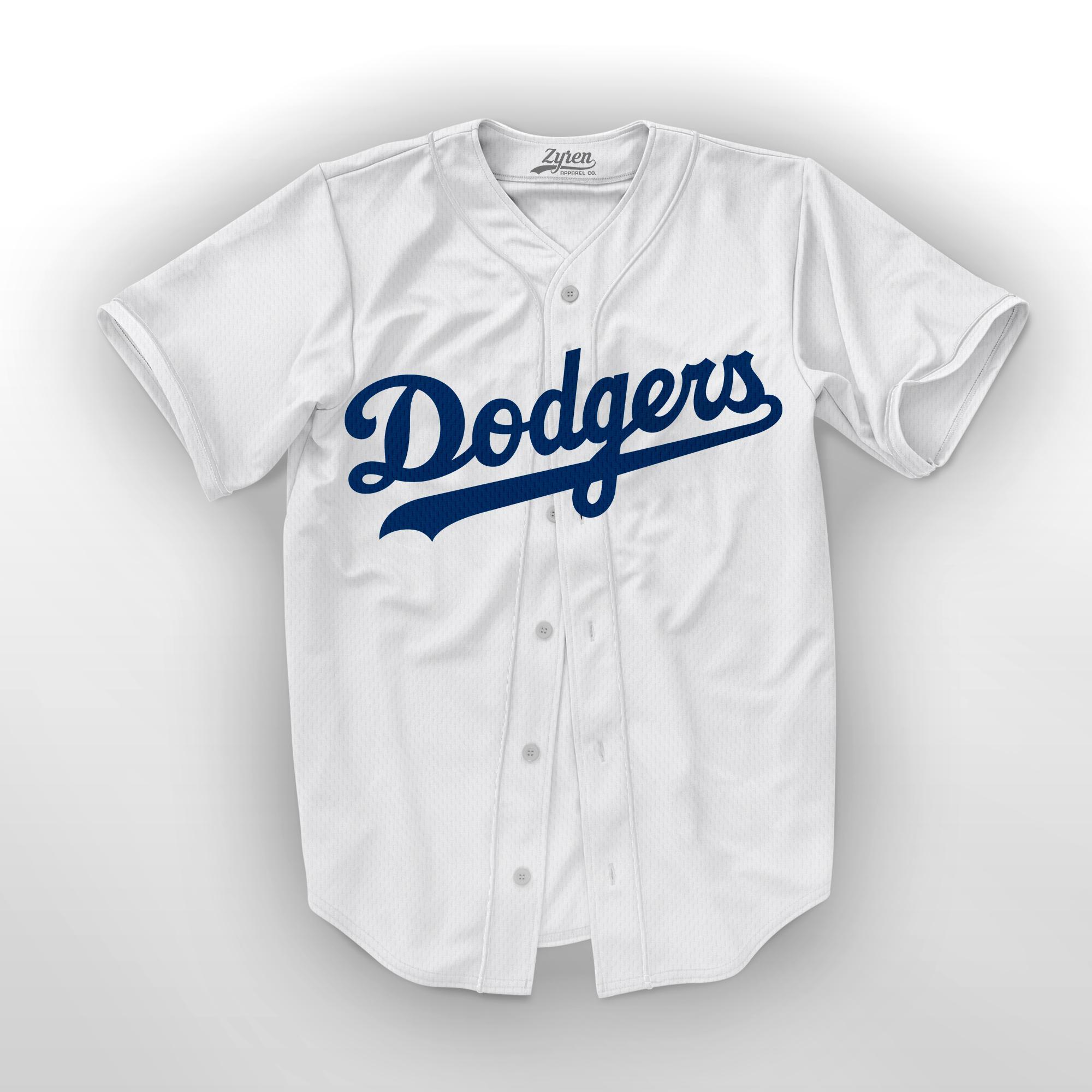 GrosirFashion Jersey Baseball Dodgers