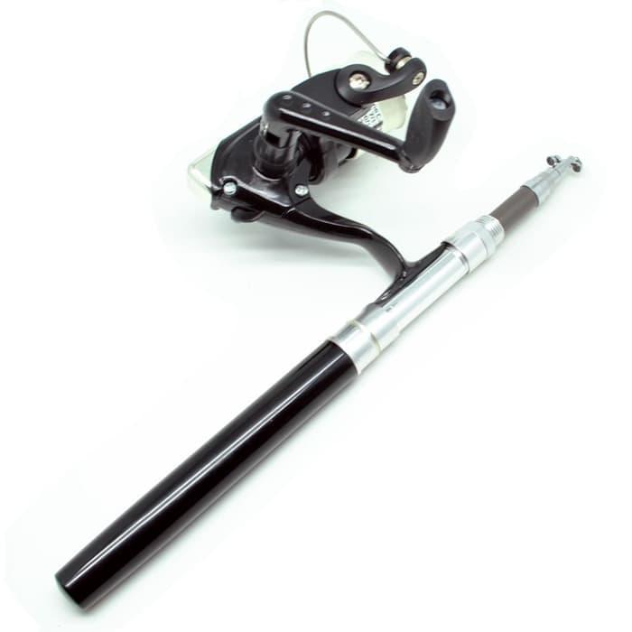 BEST SELLER!!! Alat Pancing / Mini Portable Extreme Pen Fishing Rod 1.4M & Reel Kit - LkQU5L