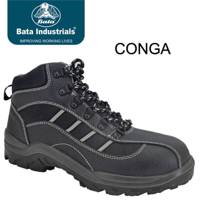 Promo Termurah Sepatu Safety Shoes Bata Conga Gratis Ongkir