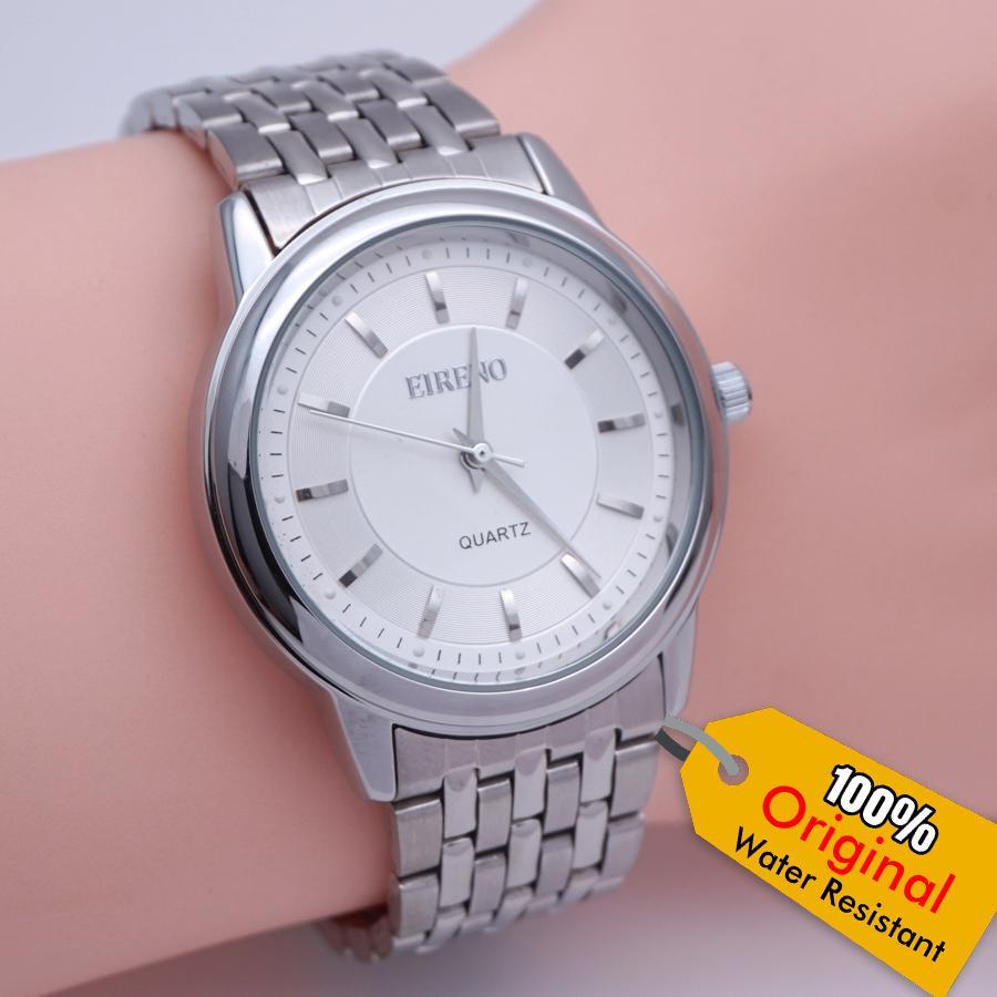 Jam Tangan Pria Original Eireno 3020 Water Resist Proof Anti Air by haragajam diameter kecil untuk kado hadiah model casio seiko