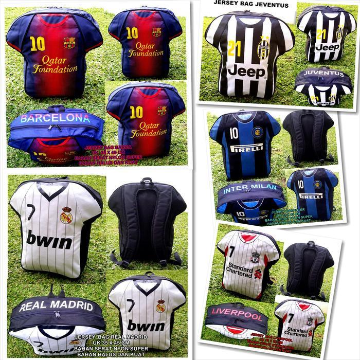 TAS RANSEL JERSEY BOLA FOOTBALL CLUB (FCB) KW SUPER - bKMci3
