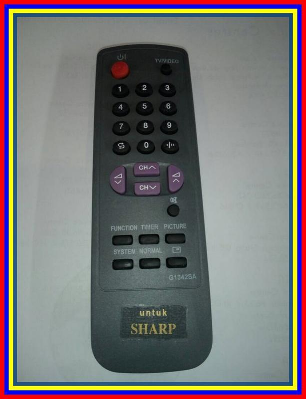 Remot Remote TV Tabung Sharp KW
