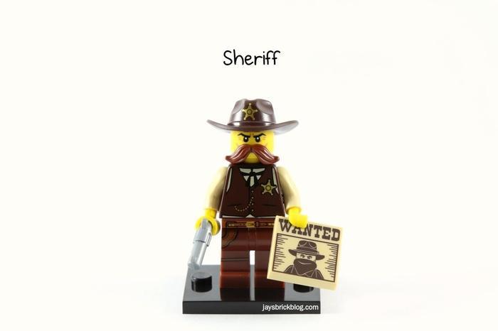 BEST SELLER!!! Lego Original Sheriff Series 13 - eRpiOr