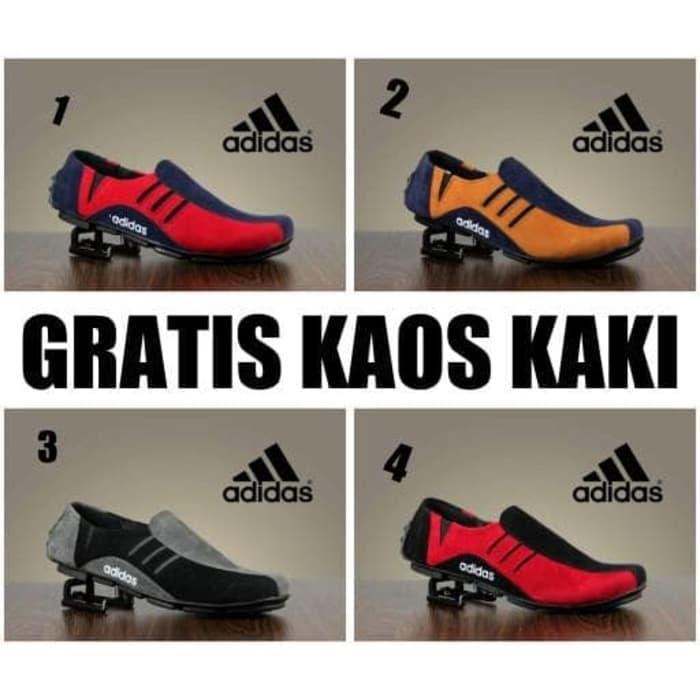 Promo sepatu slop pria adidas neymar slip on original hand made Diskon