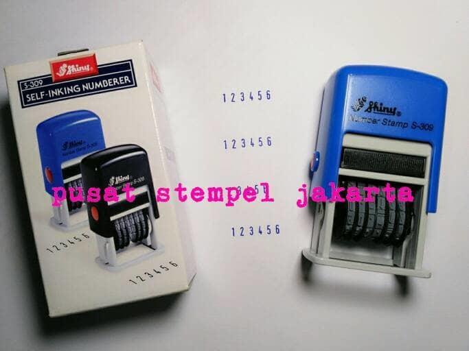 Stempel Shiny S309 Mini (Number/Nomorator) - SHGBrl