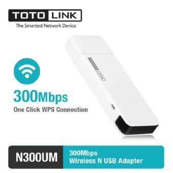 Harga Penawaran Totolink Usb Adapter Wireless Penangkap signal wifi 300Mbps N300UM discount - Hanya Rp108.125